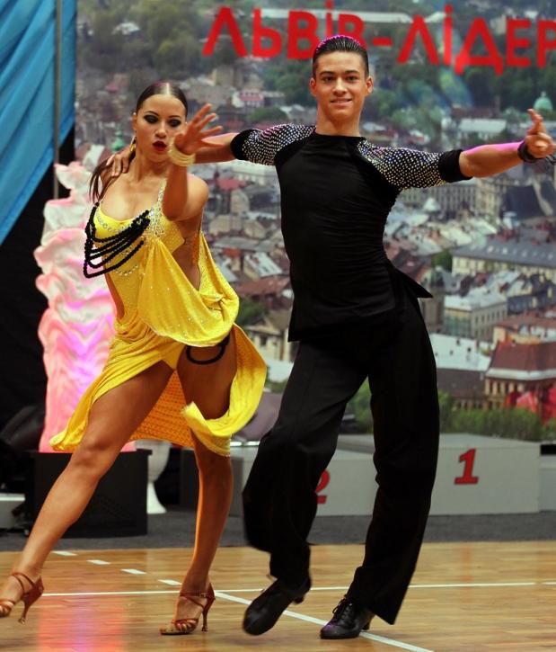 Львів прийняв змагання зі спортивних танців