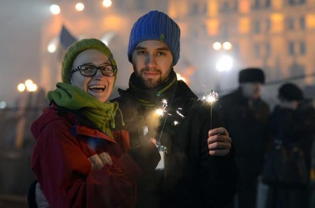 Львівське весілля на революції