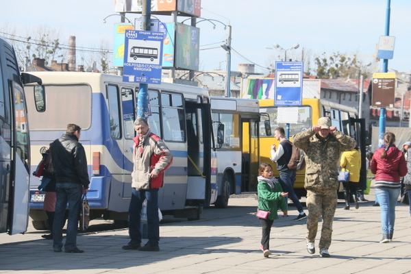 Конфліктний проїзд у приміських маршрутках