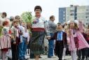 Перший дзвоник у школі №93 (фото: Олег Кохан)