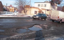 Попросити гроші на ремонт доріг
