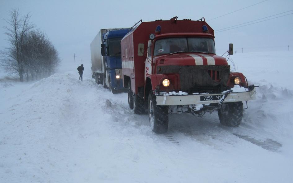 Львівщина у сніговому полоні