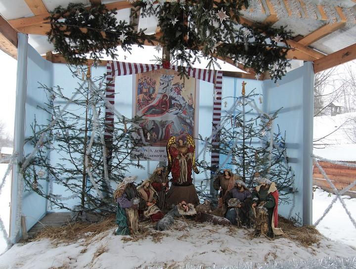 Різдвяні шопки у храмах Львова